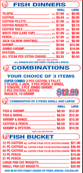 Jj fish chicago delivery takeout online menu for Jj fish chicago il